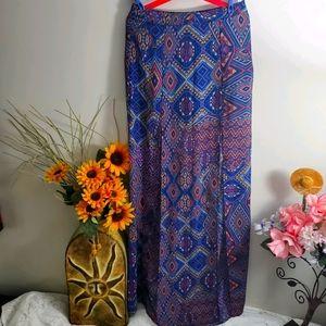 🌞 2/$30 Forever 21 Maxi Skirt Double Slit